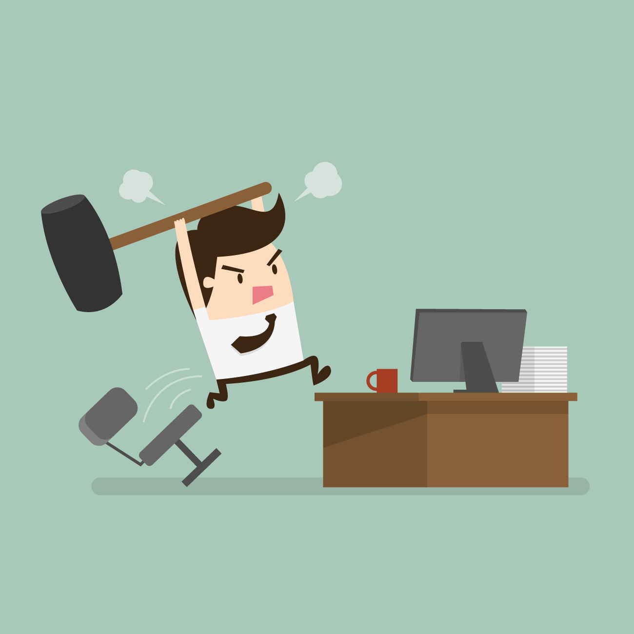 qual e a tua obra - estresse