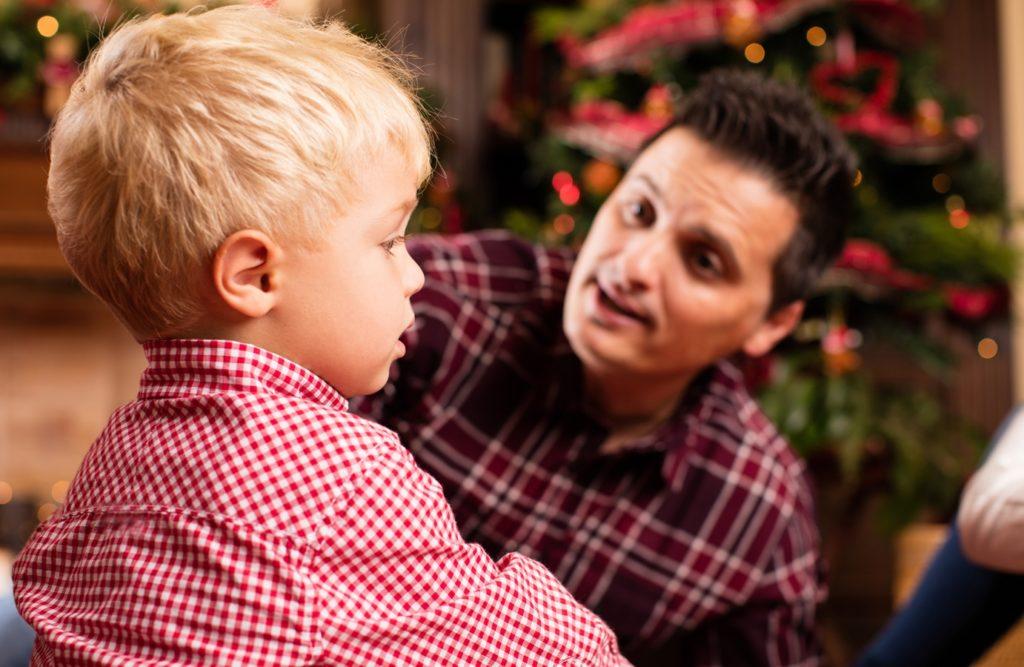 comunicação entre pais filhos